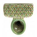 Talavera Toilet Set Pavo Real Verde