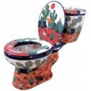 """Talavera Toilet Set """"Rancheros"""""""